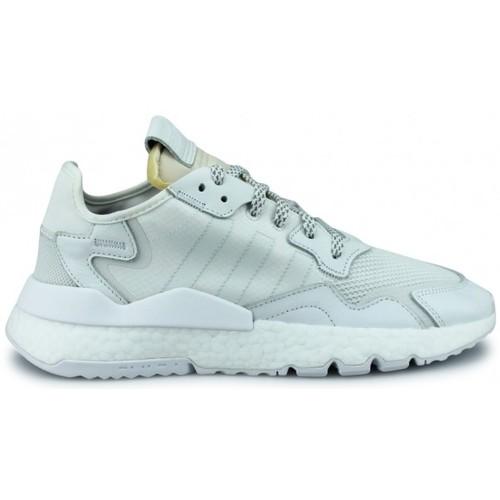 Chaussures Baskets basses adidas Originals Basket  Nite Jogger Blanc Bd7676 Blanc