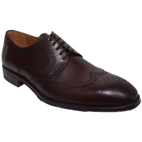 Chaussures Homme Derbies Paco Milan 3495 Marron