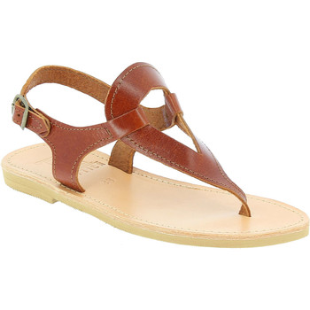 Chaussures Femme Sandales et Nu-pieds Attica Sandals ARTEMIS CALF DK-BROWN marrone