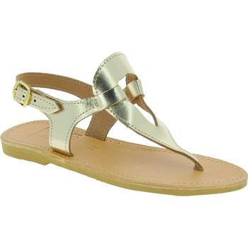 Chaussures Femme Sandales et Nu-pieds Attica Sandals ARTEMIS CALF GOLD oro