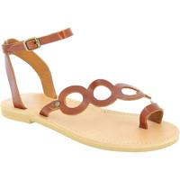 Chaussures Femme Sandales et Nu-pieds Attica Sandals APHRODITE CALF DK-BROWN marrone