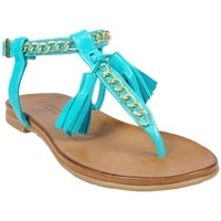 Chaussures Femme Sandales et Nu-pieds Inuovo Nu-pieds Mykonos Turquoise Multicolor