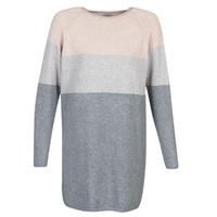 Vêtements Femme Robes courtes Only ONLLILLO Gris / Rose