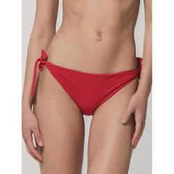 Vêtements Femme Maillots de bain séparables Luna Bas maillot de bain à nouettes Blue Sense  Splendida rouge Rouge