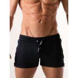 Vêtements Homme Shorts / Bermudas Code 22 Shorty sport Quick Dry  marine Bleu Marine