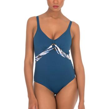 Vêtements Femme Maillots de bain 1 pièce Selmark Maillot de bain 1 pièce préformé sculptant Cebras Bleu