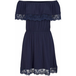 Vêtements Femme Robes courtes Lascana Robe de plage Holly  marine Bleu Marine