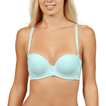 Sous-vêtements Femme Bandeaux & bretelles amovibles Lisca Soutien-gorge balconnet multi-positions Béatrice Bleu Ciel