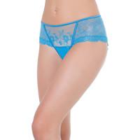 Sous-vêtements Femme Shorties & boxers Selmark Shorty Siena Bleu Turquoise