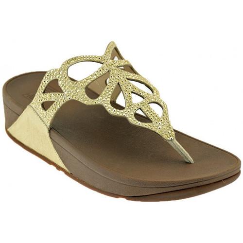 Chaussures Femme Sandales et Nu-pieds FitFlop BUMBLE CRYSTAL TOE POST Sandales Multicolor