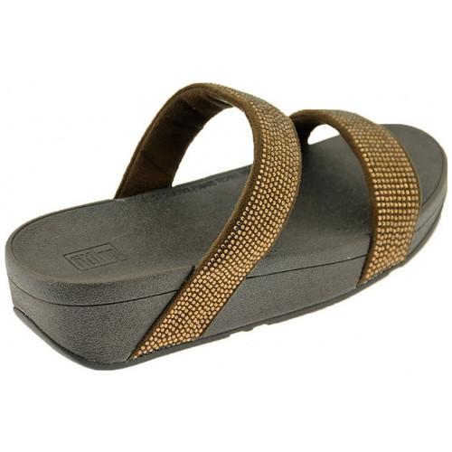 Chaussures Femme Sandales et Nu-pieds FitFlop LOTTIE SHIMMERCRYSTAL SLIDE Sandales Multicolor