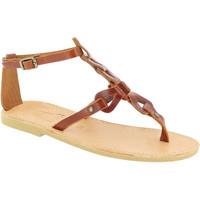 Chaussures Femme Sandales et Nu-pieds Attica Sandals GAIA CALF DK-BROWN marrone