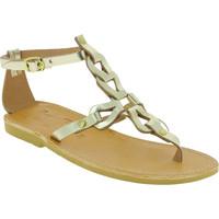 Chaussures Femme Sandales et Nu-pieds Attica Sandals GAIA CALF GOLD oro