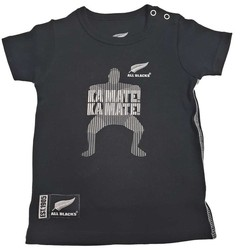 Vêtements Enfant T-shirts & Polos All Blacks Tee-shirt rugby  Hak Noir