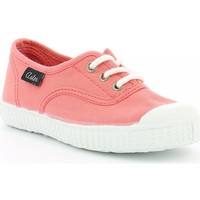 Chaussures Fille Baskets basses Aster Miley CORAIL