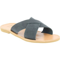 Chaussures Homme Mules Attica Sandals ORION NUBUCK BLACK nero
