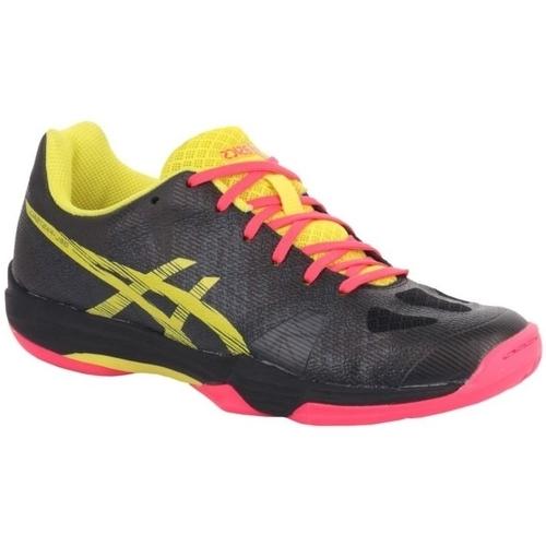 Chaussures Femme Baskets basses Asics Gelfastball 3 Womens Noir