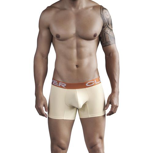 Sous-vêtements Homme Boxers Clever Boxer Ancestral de Jaune