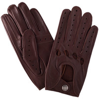 Accessoires textile Homme Gants Glove Story Gants cuir  ref_23665 307 Tan Marron