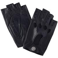 Accessoires textile Homme Gants Glove Story Gants cuir  ref_23664 100 Noir Noir
