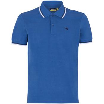Vêtements Homme Polos manches courtes Diadora POLO PQ bleu