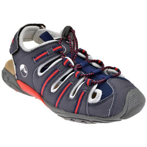 Chaussures Garçon Sandales et Nu-pieds Lumberjack Wild 30/37 Sandales Gris