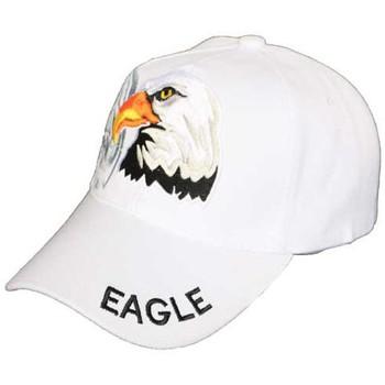Accessoires textile Homme Casquettes Divers Casquette Aigle blanche Blanc