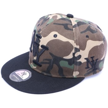 Casquettes Hip Hop Honour Snapback NY Camouflage