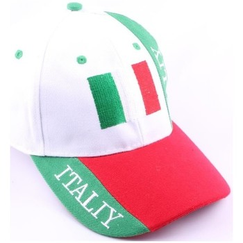 Casquettes Pays Casquette Strapback Italie Blanche Rouge Verte