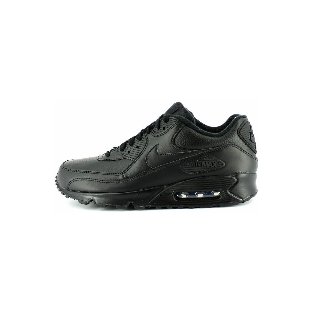 Nike Air Max 90 peu noir pourpre
