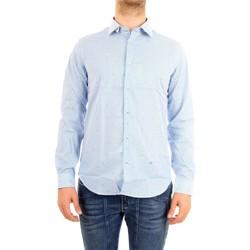 Vêtements Homme Chemises manches longues Manuel Ritz 2632E602L193293 Céleste