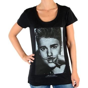 Vêtements Femme T-shirts manches courtes Eleven Paris Sacs à main Noir