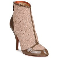 Chaussures Femme Bottines Missoni LISCIA Beige / Marron