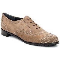 Chaussures Femme Richelieu Stuart Weitzman DERBY Beige