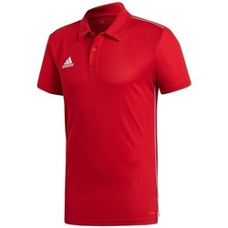 Vêtements Homme Polos manches courtes adidas Originals Core 18 Rouge