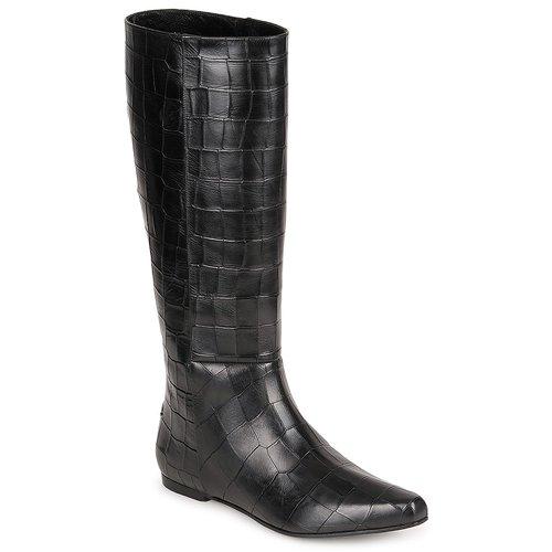 Chaussures Femme Bottes ville Roberto Cavalli SPS749 Noir