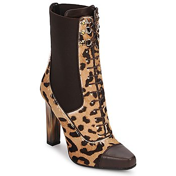 Chaussures Femme Bottines Roberto Cavalli SPS769 Marron