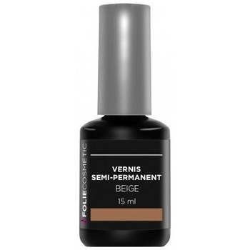 Beauté Femme Vernis à ongles Folie Cosmetic Vernis Semi permanent  Beige   15ml Beige