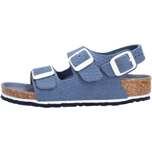 Chaussures Garçon Sandales et Nu-pieds Birkenstock - Milano blu 1012639 BLU