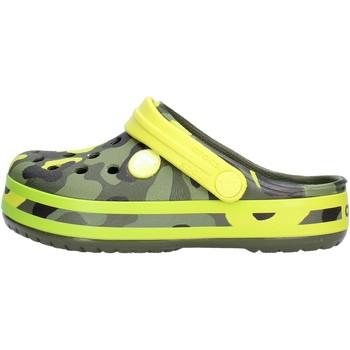 Chaussures Garçon Sabots Crocs - Crocband verde mimet 205532 VERDE