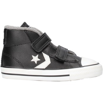 Chaussures Garçon Baskets montantes Converse - Star player 2v mid nero 762009C NERO