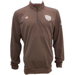 Vêtements Homme Sweats Le Coq Sportif Sweat rugby Racing 92 Entraine Blanc