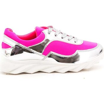 Chaussures Femme Baskets basses Cendriyon Baskets Fushia Chaussures Femme Fushia