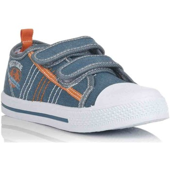 Chaussures Fille Baskets basses K Tinni KFY12550 Azul