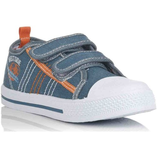 Chaussures Fille Baskets basses K-Tinni KFY12550 Azul