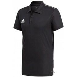 Vêtements Homme Polos manches courtes adidas Originals Core 18 Polo Noir