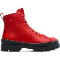 Chaussures Fille Bottines Camper Brt K900179-004 Enfant rouge