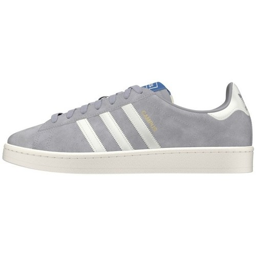 Adidas Originals Campus Gris - Chaussures Baskets Basses