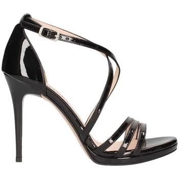Chaussures Femme Sandales et Nu-pieds Bailly 949 santal Femme Noir Noir