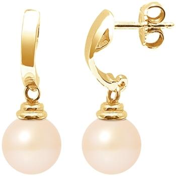 Montres & Bijoux Femme Boucles d'oreilles Blue Pearls BPS K614 W Multicolore